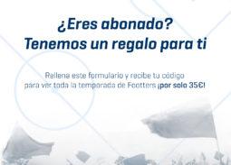 Cartel Genérico Anuncio Oferta Abonados FOOTTERS
