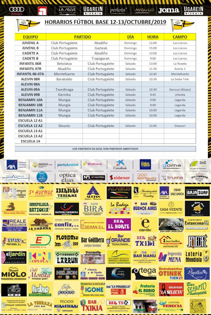 Horarios partidos-v191012-CARTEL-FINAL