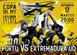 cartel-partido-copa-del-rey-club-portugalete-extremadura-2019-fecha