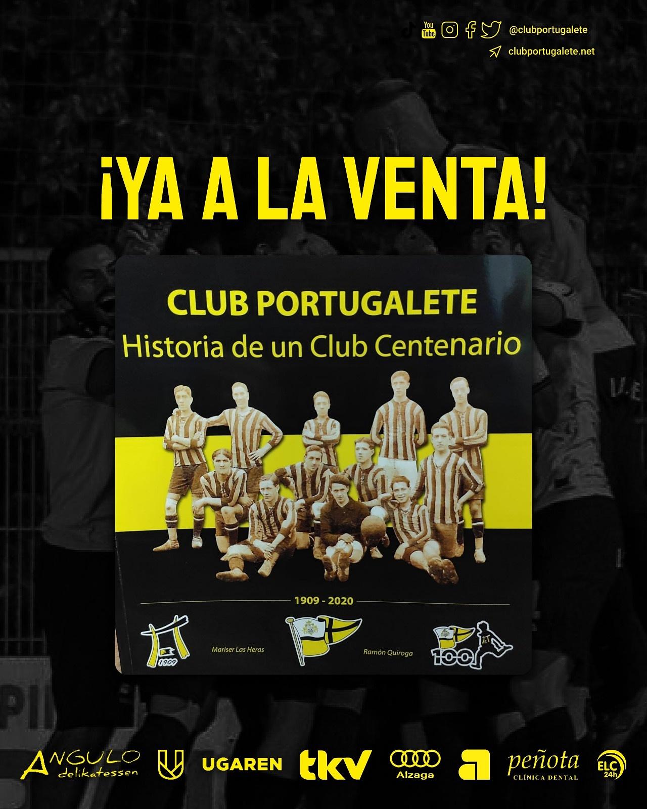Libro Club Portugalete centenario 110 años historia