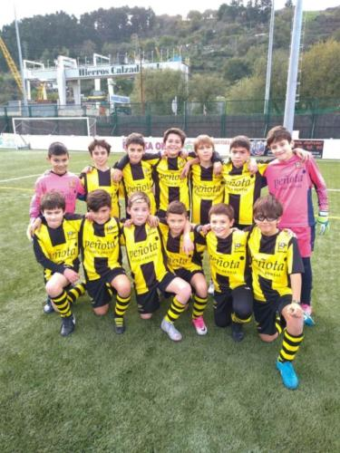 Alevín 08A1-Club Portugalete-2018-2019-1
